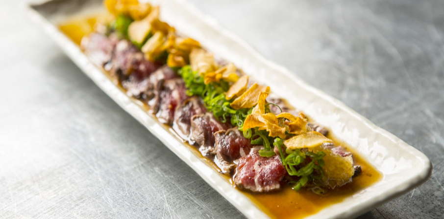 Sashimi z polędwicy argentyńskiej